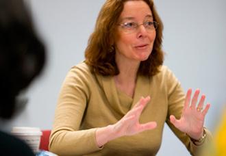 Environmental Portrait of History Professor Tamara Thornton