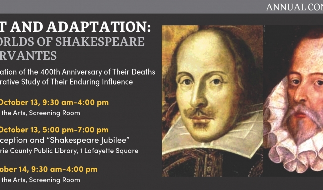 Object and Adaptaion: The Worlds of Shakespeare and Cervants slide image