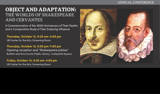 Object and Adapatation The worlds of Shakespeare and Cervantes conference