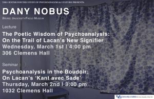 Dany Nobus poster