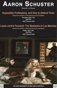 Impossible Professions, and How to Defend Them and Lacan contra Foucault: The Mysteries of Las Meninas Poster