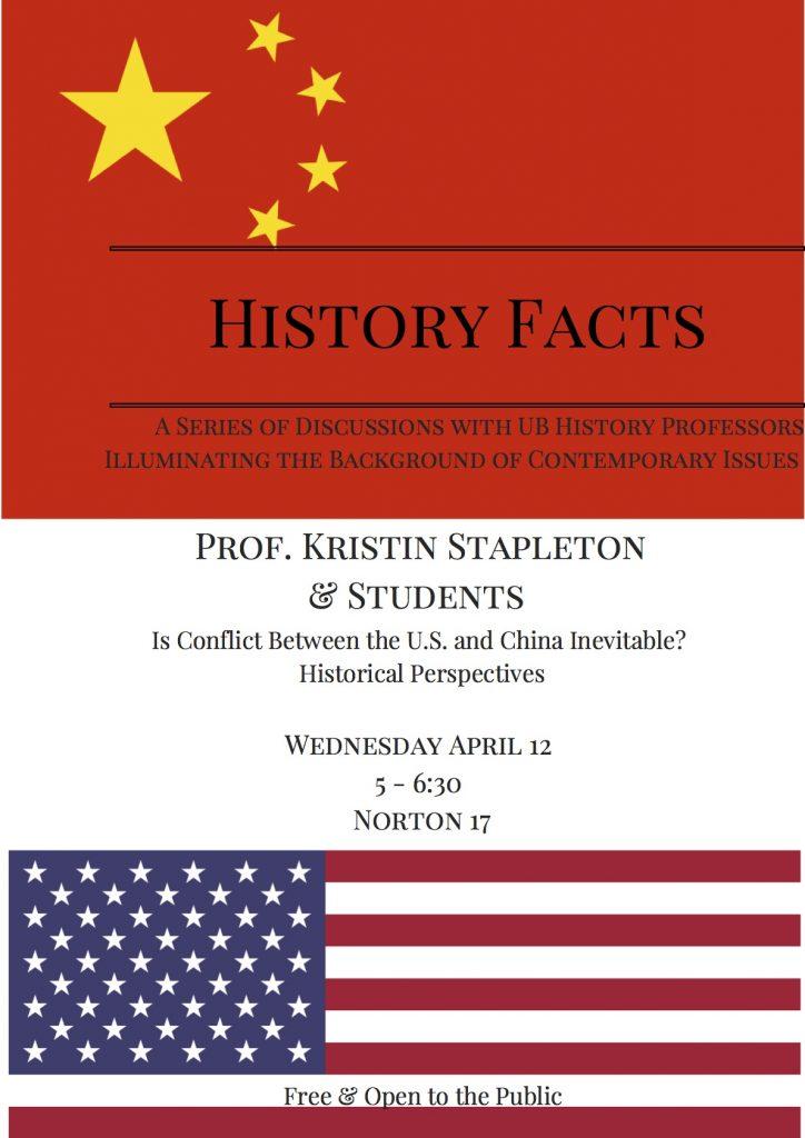 Kristin Stapleton History Facts poster